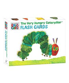 The World of Eric Carle The Very Hungry Caterpillar Flash Card Set | zulily