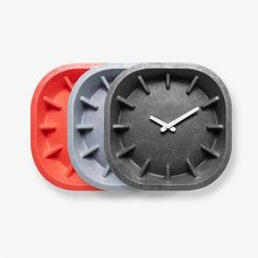 Anno Benk Paper Clock Gray