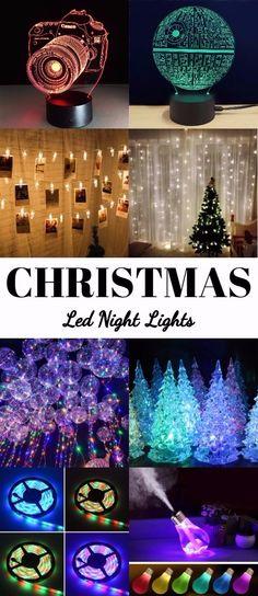 led night lights for christmas