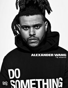 Alexander Wang Gives Back - The Weeknd-Wmag