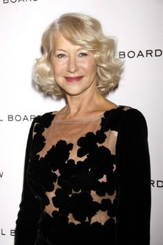 Helen Mirren - Grey hairstyles