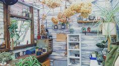部屋の画像 by -mai-さん | 部屋と多肉植物とジャンクテイストと観葉植物と植物のある暮らしとアトリエ小屋とドライフラワーとno green no lifeと『DIY+GREENのある暮らし』フォトコンテストと今日の一枚と癒し空間と雑貨とDIYとハンドメイドと古道具とジャンクガーデンとプラハン
