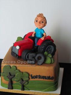 Bolo do aniversário do Fortunato Bowser, Cake, Desserts, Design, Food Cakes, Agriculture, Pie Cake, Tailgate Desserts, Pastel