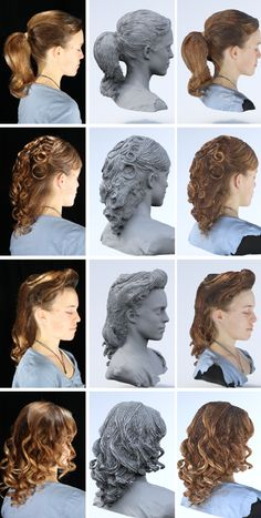 3ders.org - Disney researchers found a way to 3D print figurines with the most realistic hair | 3D Printer News & 3D Printing News
