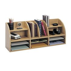 Essential for your home office or study, this classic design keeps desks clear with 12 open compartments.     Product: Desktop organi...