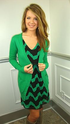 Need more green in my wardrobe