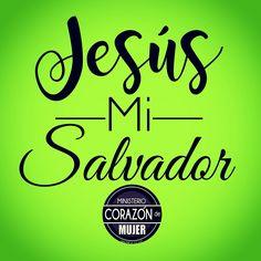 ¿Quién es Jesucristo?  La Biblia nos dice que Jesús es Dios en carne, que Él llegó a ser un ser humano (vea Juan 1:1,14). Jesús vino a la tierra para enseñar, sanar, corregir, y perdonarnos, y aun más, para morir por nosotros. Jesucristo es Dios, el Creador, el Señor Soberano. #Jesusmisalvador #compartelapalabra #diseñocorazóndemujer #ministeriocorazóndemujer