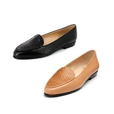 Butter soft leather flats. Shop the OSCAR by AMALFI. MADE IN ITALY.  Available in-store or online at www.petersheppard.com.au
