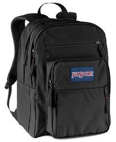 460d5600b9 Jansport Big Student Backpack in Black - Black