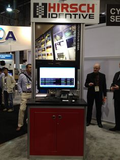 """Hirsch Identive showcases its """"Mobile Touch to Open"""" solution at ISC West.     android mobile security"""