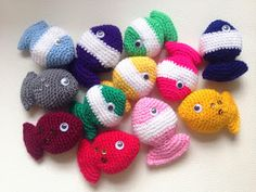 Lily Gets Crafty: Fish Candy - Free crochet pattern