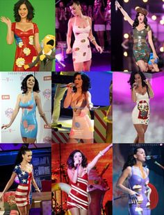 Katy Perry demonstrates the versatility of latex!!
