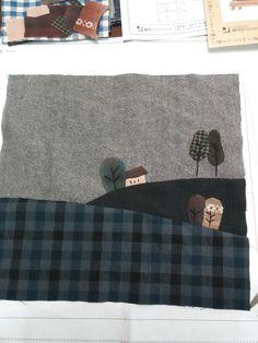 Patchwork Quilt Bag Turorial. Сумка пэчворк