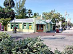 "Corner of Elizabeth and Green Streets, Kermit's Key West Key Lime Shop. @vhkw.com 'Seaport Treasure Estate,"" #Key West vacation rental estate just steps away."
