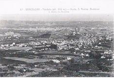 Vista d'Horta des del Tibidabo 1920