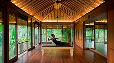 When you look good, you feel good. That's why COMO Shambhala Estate offers state-of-the-art wellness facilities, including this Pilates studio perched in the trees.