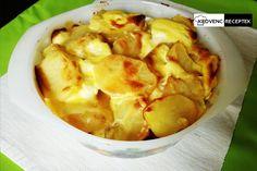 Rakott krumpli kolbásszal és tejfölös szafttal Potato Salad, Cabbage, Bacon, Potatoes, Vegetables, Ethnic Recipes, Food, Cabbages, Potato