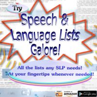 Free Language Stuff | Tons of Language Activities for Specific Language Needs