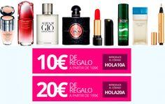 Cupones descuento de hasta 20€ en la web de Paco Perfumerías