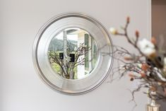 Round mirrors seem to be challenging the rectangular norm and can be a statement piece in your room. Round Mirrors, Auckland, Home Interior Design, New Homes, Trends, Room, House, Inspiration, Bedroom