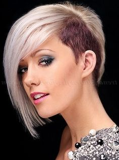 undercut hairstyles for medium women - Google Search