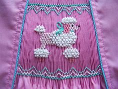 Adapting a full plate to a touch of smocking!