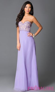 Strapless Sweetheart Bodice Prom Dress with Corset