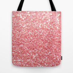 coral pink Tote Bag by ingz