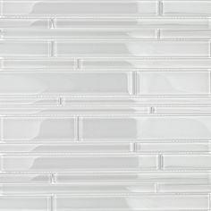 Spa Tuscany Pattern Super White Glass Tile Shop For Tuscany Pattern Super White Glass Tile at TileBa Refacing Kitchen Cabinets, Built In Cabinets, Kitchen Backsplash, Backsplash Ideas, Tile Ideas, Kitchen Countertops, Glass Tile Backsplash, Granite Kitchen, Quartz Countertops