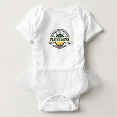 platte river ot marker baby bodysuit - plain gifts style diy cyo