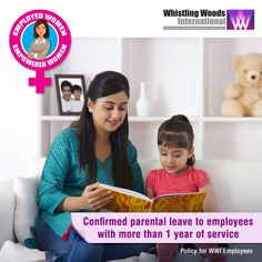 Parental Leave will be available to all confirmed employees after one year's completion of service with the company. Employees can avail 10 days unpaid leave for each child, up to their 18th birthday. Parental leave can be availed to: •Spend more time with the child •Look at new schools •Settle children into new childcare arrangements •To help them in examination •Attend Parents and Teachers meeting