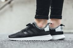 "adidas Flashback W Primeknit ""Core Black/Footwear White"" - EU Kicks Sneaker Magazine"