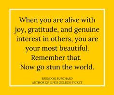 Stun the World #GratefulMuch
