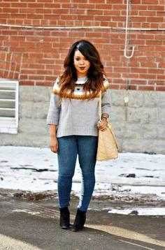 Winter sweater | My Voguish Diaries