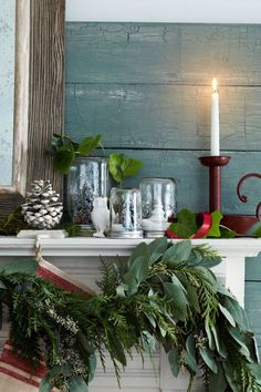 Snow globes get a farmhouse-chic makeover, courtesy of Mason jars. RELATED: 20 Magical Ways to Use Mason Jars This Christmas