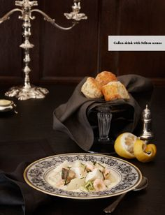Blue cheese recipes and food stylist by John Bentham with photographer Jan Baldwin for Harrods Magazine