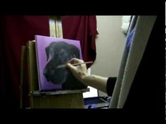 I explain in this video my techniques for painting a dog portrait. Hope this helps some artists!    Thanks for watching!  http://www.Brandon-Schaefer.com