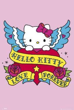 hello kitty tattoo art I have this tattooed!