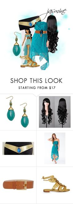 """""""Jasmine - Disney Inspired"""" by sambapanda ❤ liked on Polyvore featuring Emilio Pucci and Sergio Rossi"""