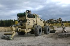 Pearson Engineering Counter-IED Vehicle