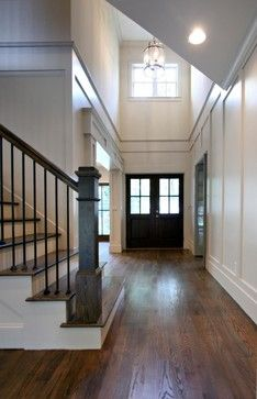 Living Spaces - traditional - entry - atlanta - Fitzgerald Construction