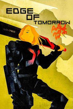 Edge of Tomorrow - movie poster - Luigi Rinaldo