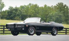 1969 Pontiac GTO Judge Ram Air IV Convertible