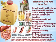 Aloe Vera gel order at www.nina49.flp.com