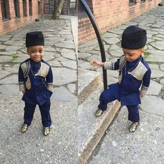 Finding Modern African Style for your little one can sometimes require finding African themed stores near you or checking through magazines. To spare you these issues we've assembled a rundown of charming African motivated attire for kids Source: afro Nigerian Men Fashion, African Men Fashion, Africa Fashion, African Fashion Dresses, Ghanaian Fashion, African Women, Baby African Clothes, African Dresses For Kids, African Children