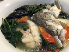 A simple Filipino recipe that is not only good but also healthy.            Ingredients:   2 lbs. white fish (sea perch) cut into serving...