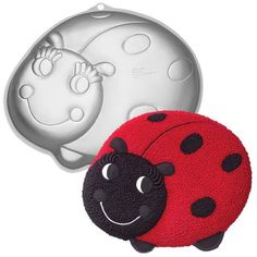 Mini Ladybug Cake Pan