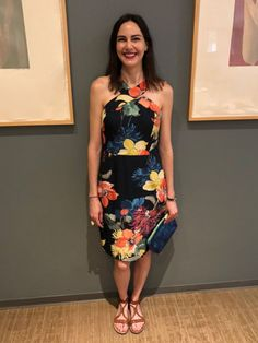 I rented the Trina Turk Floral Ace dress from Rent the Runway for my 40th birthday party and I loved it!