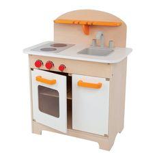 Cozinha Infantil de Brinquedo Gourmet de Madeira em 12x