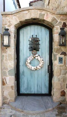 Old gothic door in the Berkshires